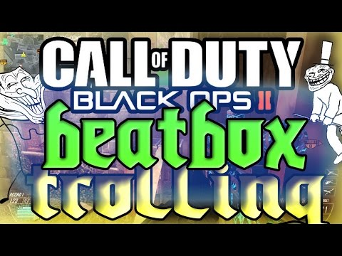 WHY YOU GOTTA BE SO RUDE?! - Beatbox Trolling (Black Ops 2)