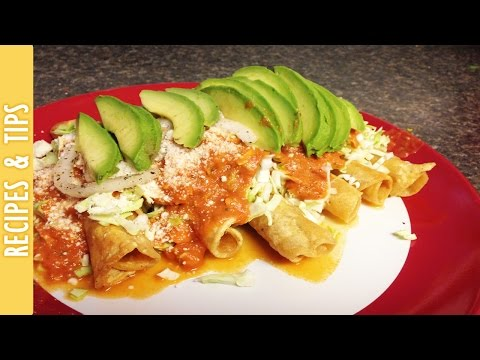 How to make Flautas (Cooking with The290ss)