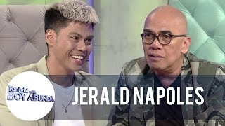 Jerald Napoles reacts to claims that he is using Kim Molina to shine in show business | TWBA