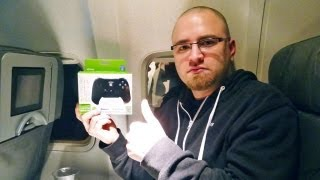 Unboxing at 37,000 feet!?! -- Nyko Playpad Pro Unboxing (CES 2013)