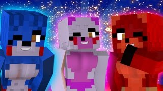 """FNAF World - """"Five Nights In Anime"""" (Minecraft Roleplay) Night 15"""