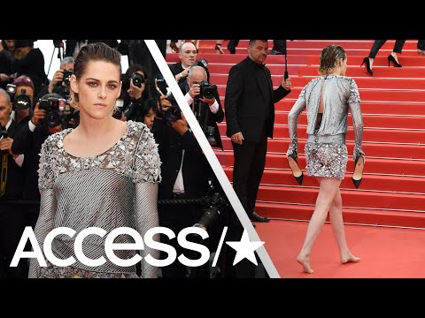 Kristen Stewart Goes Barefoot At The 2018 Cannes Film Festival