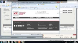 Участие в торгах (электронный аукцион) РТС тендер. Видео инструкция от Валерия Овечкина