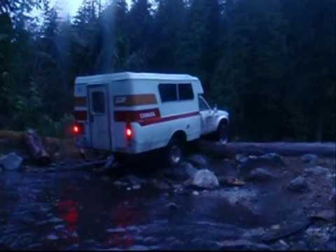 Chinook Toyota Motorhome Kootenay Edition Camping Footage March 2010 to July 2011