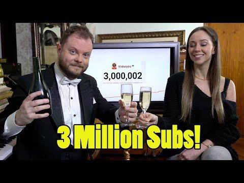 Celebrating 3 Million Subscribers! Vídeos de zueiras e brincadeiras: zuera, video clips, brincadeiras, pegadinhas, lançamentos, vídeos, sustos