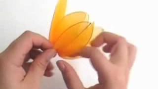 How To Make Nylon Flower (stocking Flower Tulip) -  Wedding Flower