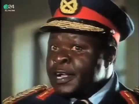 kenyan actor who played idi amin in film passes on youtube