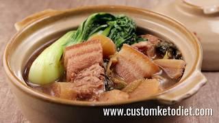 How to make Keto Doenjang Braised Pork Belly || KetoDiet Food Recipe