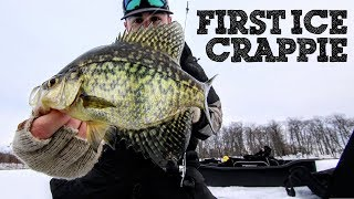 FIRST ICE CRAPPIES!!! ❄️❄️