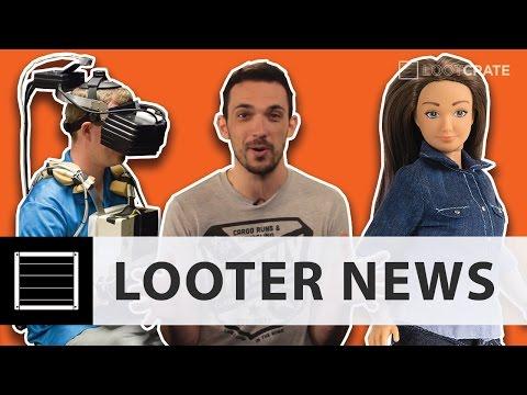 Looter News: NASA Virtual Reality, Lammily Doll
