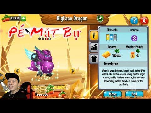 Bé Mặt Bự High Super Dragon Skin Dragon City Game Nông Trại RỒNG Rap Bình Luận HNT Gaming thumbnail