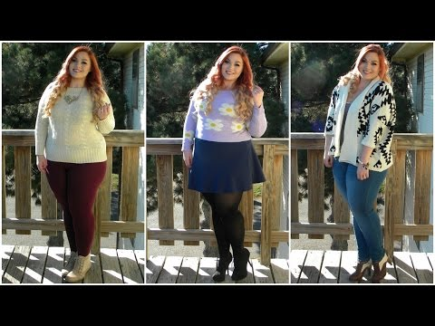 The Curvy Diaries: Sweater Weather | Plus-Size Lookbook