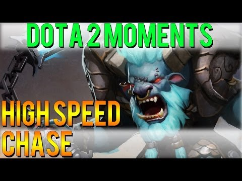 Dota 2 Moments - High Speed Chase