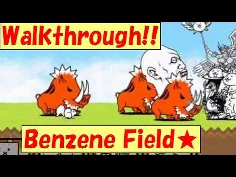 Walkthrough!! 26-6 Benzene Field★《1-star》Sea Polluter【The battle cats】