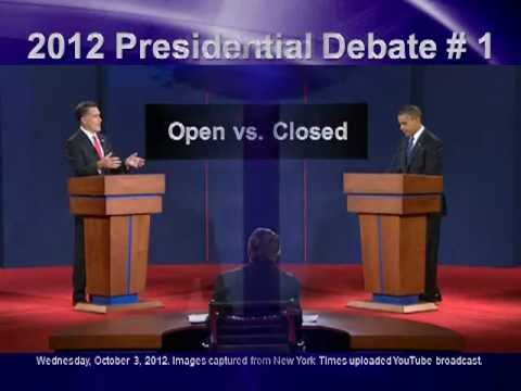2012 Presidential Debate #1 - Non-verbal Analysis