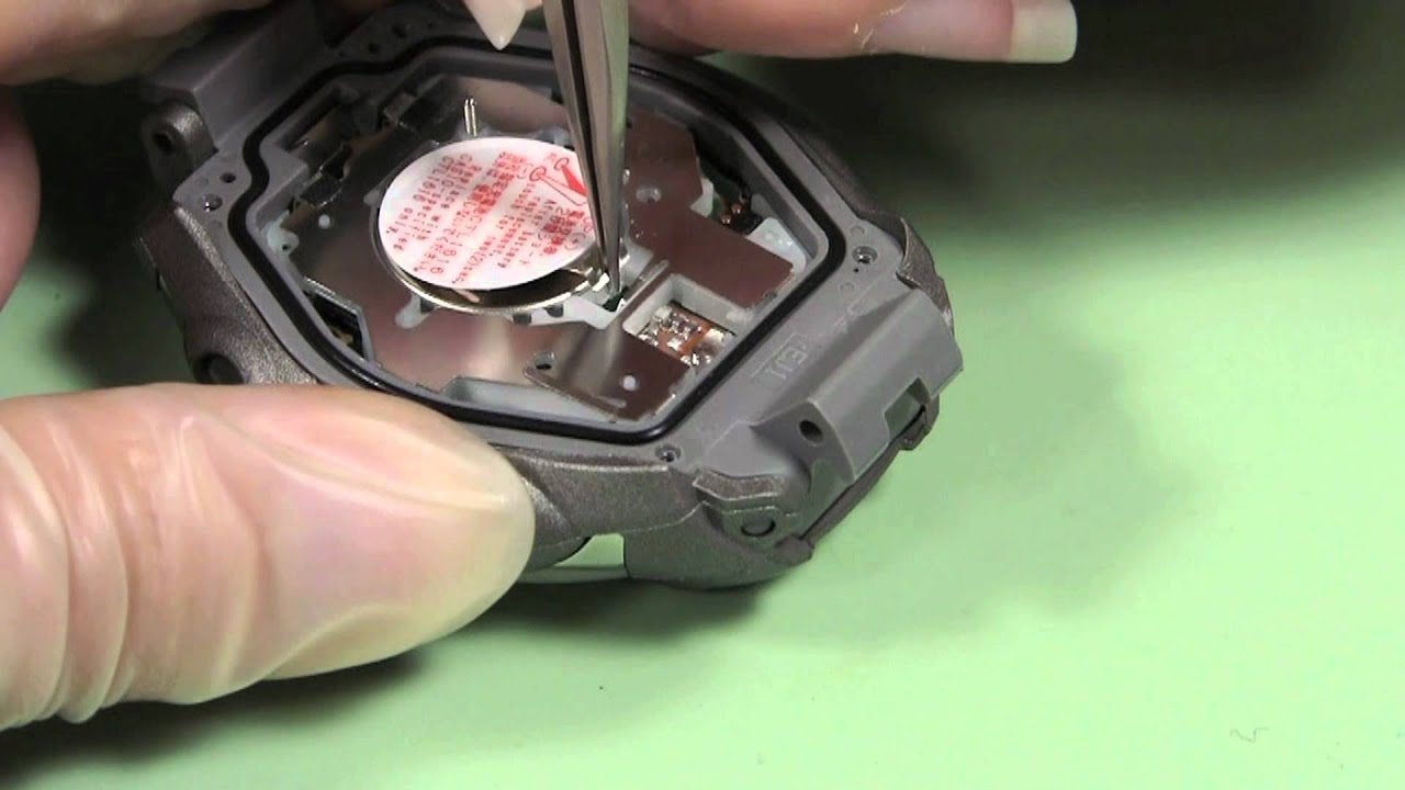 How to Change to 12 Hour Time on a G-Shock DW6900FS-8 ...