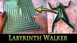 Origami Labyrinth Walker By Jeremy Shafer
