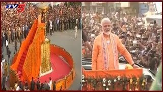 Lok Sabha elections 2019 : PM Modi Roadshow In Varanasi