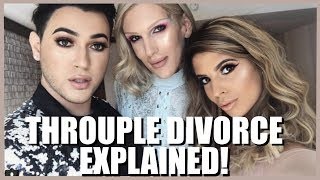 THROUPLE DIVORCE EXPLAINED! ⎮ PLANTED EVIDENCE? ⎮ EXCLUSIVE TEA!