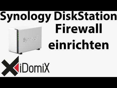 Synology DiskStation Firewall aktivieren Ports freigeben Sicherheit enorm erhöhen
