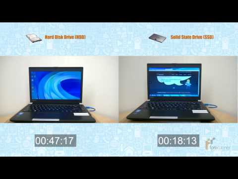 HDD vs. SSD: Speed Difference - Samsung SSD 840 EVO 250GB