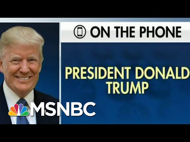 New Trump Could Be Impeached Partly For Admissions On Fox News  The Beat With Ari Melber  MSNBC
