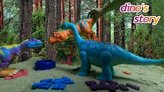Dino's Adventures Story - Dinosaurs for Kids - Dinosaur Cartoon Shows | Dino's Story Ep 2