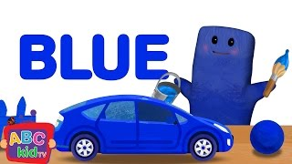 Color song - Blue | Cocomelon (ABCkidTV) Nursery Rhymes & Kids Songs