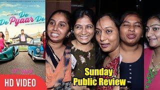De De Pyaar De Public Review | Sunday Special | Ajay Devgan, Tabu, Rakul Preet Singh