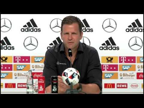 DFB Pressekonferenz: Oliver Bierhoff,  Jerome Boateng & Toni Kroos 30/06/16