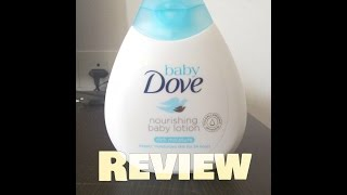 Dove Baby Lotion Review| Baby Rich Moisture Nourishing Lotion |New Dove Baby Product Review