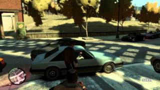 GTA IV Gameplay on the ASUS Nvidia GT640 2gb