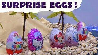 Mermaid Surprise Eggs Princess Ariel Barbie Frozen Play Doh Kinder Disney Princess Minnie Mouse