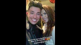 JAMES CHARLES SUPRISES TATI WESTBROOK FOR HER BIRTHDAY & SINGING | Snapchat