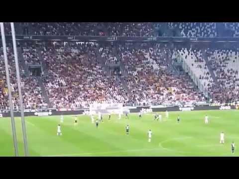 Juventus Udinese 2-0 13/9/2014 Zuliani (Gol Tevez e Marchisio)