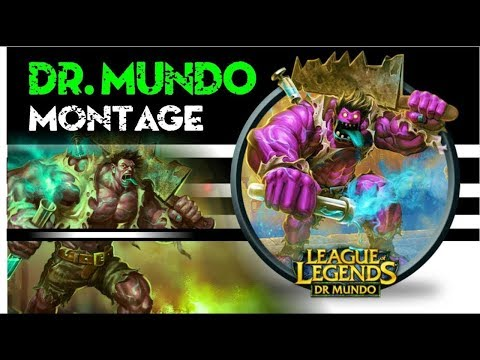 DR MUNDO EATING ALL !!! YOU MUST SEE LEAGUE OF LEGENDS 2019