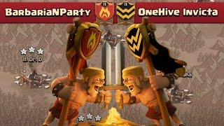 TAKING DOWN ONEHIVE | Clash of Clans | Epic Clan War VS OneHive Invicta