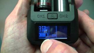 XTAR VP1 Lithium Battery Charger with Selectable Current