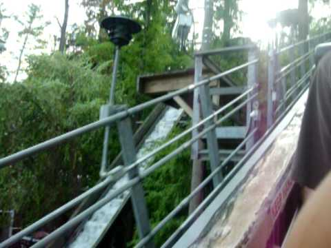 The Flume at Knoebels Amusement Resort