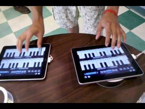 Clocks by Coldplay on two ipads - Danny Skills