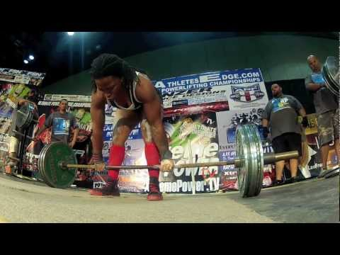 Go Pro Powerlifting APF XPTV Europa Deadlifts 4-27-2012 Image 1