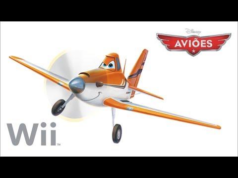 Aviões Disney Dublado. Nintendo Wii