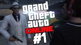 Поиграем в GTA Online #1 - Сын Нико (PC)