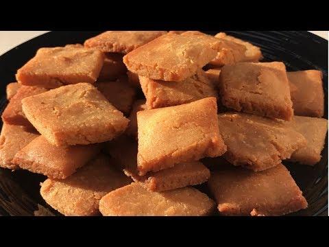Crispy Sweet Shakar para Recipe | Wheat Chappati Flour Shakkar para | Tea Time Snack | Diwali Snack