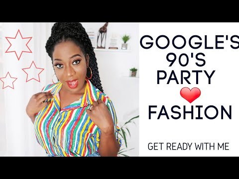 HOW GOOGLE NIGERIA PARTIES | 90's FASHION GRWM| VLOGMAS 18