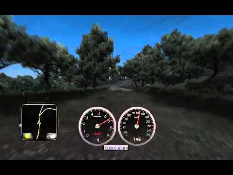 Test Drive Unlimited 2 - invisible car