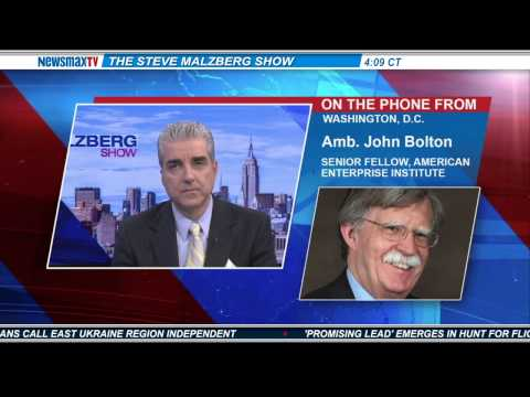 John Bolton -- former U.S. ambassador to the U.N. and AEI senior fellow