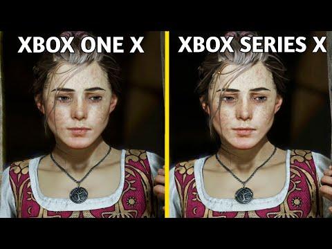 A Plague Tale Innocence Xbox Series X Vs Xbox One X Graphics Comparison (4K 60FPS)