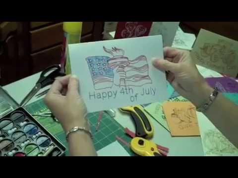 Make Greeting Cards With Your Embroidery Machine