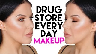 DRUGSTORE/ AFFORDABLE EVERYDAY MAKEUP LOOK!!